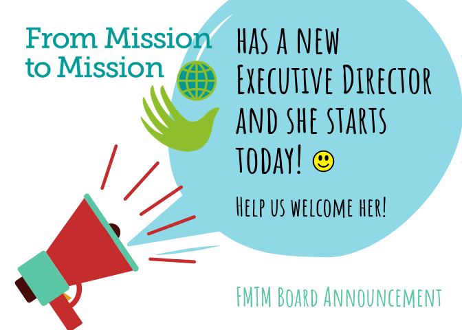 has a new Executive Director and she starts today!